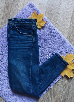 Джинсы мом джинс американка высокая посадка топшоп mom jeans topshop