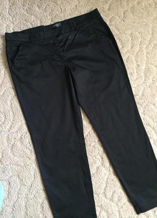 Отличные жен джинсы черные стреч  раз 2xl(44)