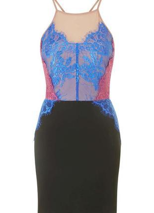 Красивое платье с кружевом от topshop