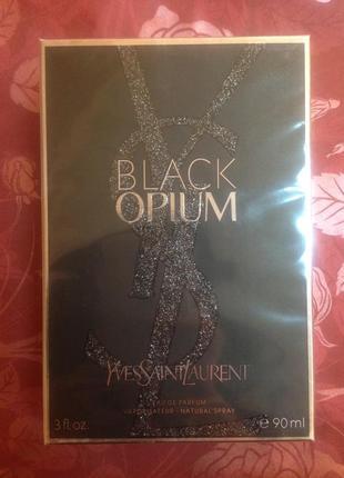 Женский парфюм black opium yves saint laurent