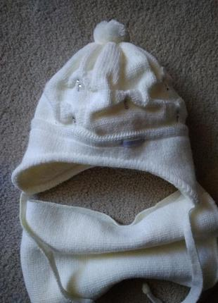 Шапочка +шарф