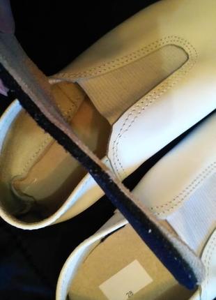 Кожаные чешки матита, модель *лапки* р. 283 фото