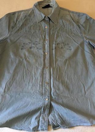 Джинсовые платья рубашки больших размеров