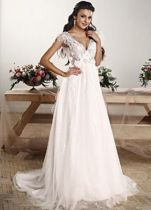 Самое стильное свадебное платье alessia bridal