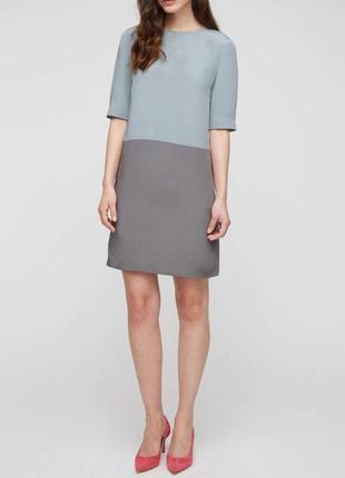 Jigsaw шелковое платье, s-m