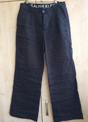 Льняные штаны мужские calvin klein  (оригинал)