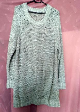 Симпатичный теплый свитер р.20