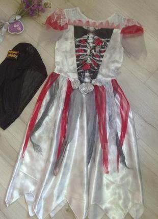 Платье для костюмированной вечеринки на хэллоуин