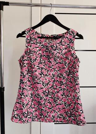 Легкая блуза без рукавов oasis