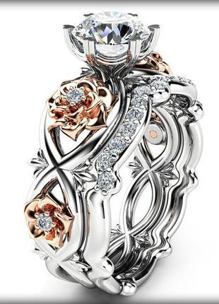 Эксклюзив ! сияние бриллиантов !кольцо произведение искусства!