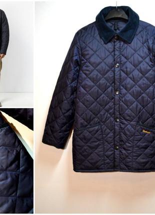 Мужская стёганная куртка barbour барбур оригинал