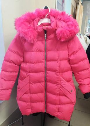 Зимнее пальто на девочку польша.