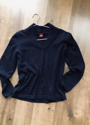 Темно-синий свитер olsen