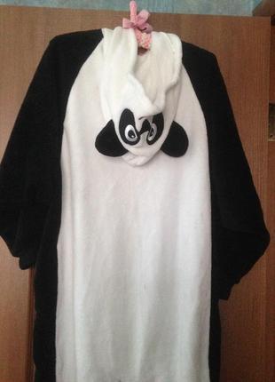 ... Love to lounge человечек кигуруми слип костюм пижама комбинезон мишка  панда р.10-12 ... 5c7c394e563bc