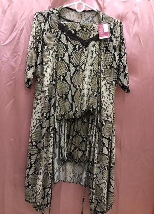 Пижама   халат / домашний костюм