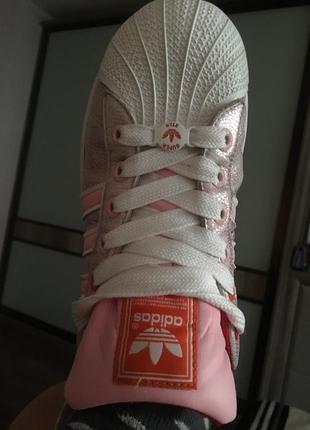 Adidas superstar кроссовки адидас суперстар  кожа осень