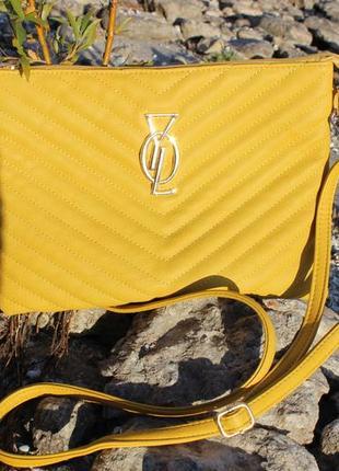 Вместительная сумка-клатч с двумя ремешками