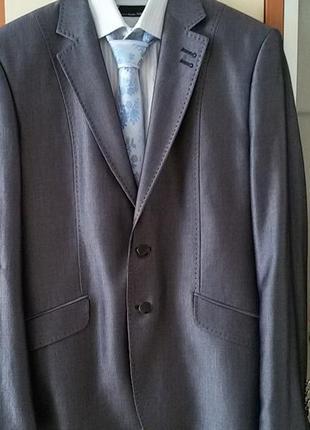 Костюм мужской классический. пиджак + брюки + рубашка + галстук, р-р xl- xxl