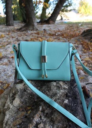 Мятная сумочка   чокер в подарок 😍