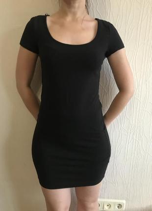 Очень красивое платье в обтяжку!