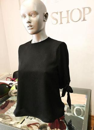 Чорна блуза від бренду fashion union