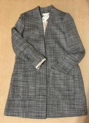 Удлинённый жакет, пальто на m-l.