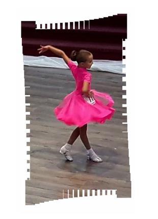 Grand prix яркое и стильное рейтинговое платье, бейсик для участия в турнире, р134-146