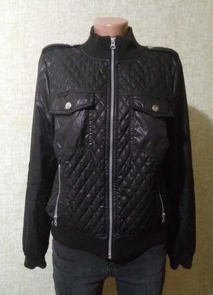 Демисезонная куртка бомбер marks & spencer