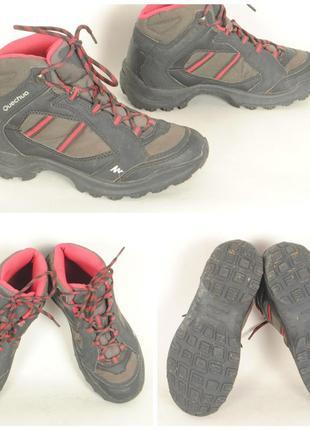 12/14 ботинки демисезонные quechua  38