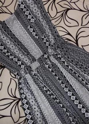 "Дизайнерский сарафан (платье) от ""yd"". 100%. вискоза. орнамент."