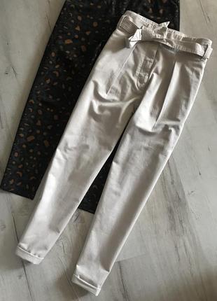 Красивейшие штаны с пояском marks&spencer