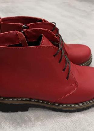 Ботинки осень зима 36-41 доступно в других цветах и замше