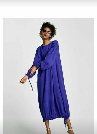 Длинное платье zara