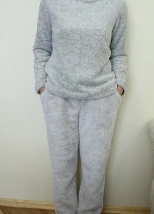 Сборная пижама теплая,кигуруми, домашний костюм на размер m-l, love to lounge