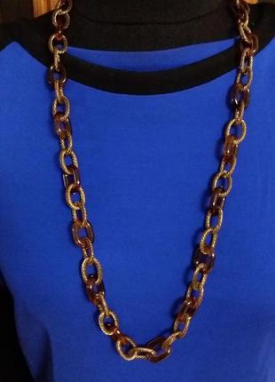 Колье цепь ожерелье h&m