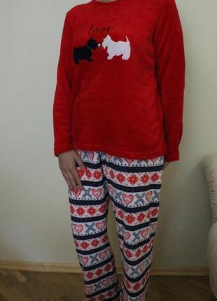 Пижама,кигуруми, домашний костюм собачки на размер l, love to lounge