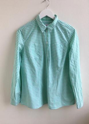 Базовая рубашка в клетку s.oliver