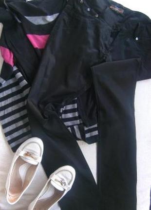 Легкие стрейчевые брюки размер 44-46