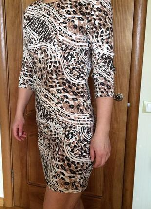Платье короткое миди туника boohoo h&m мини