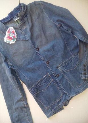 Брендовый пиджак удлиненный от willa happ.