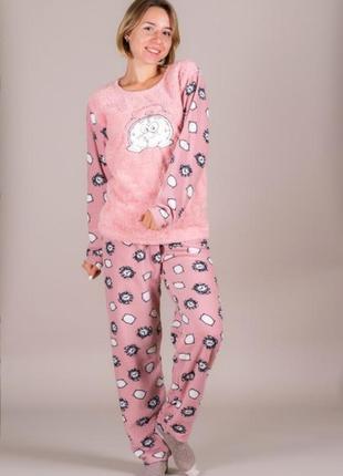 Пижамки очень теплые разные расцветки