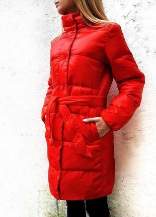 Удлиненная куртка осень-зима