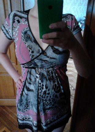 Летняя блузочка-туника