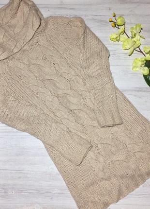 Вязанное платье h&m