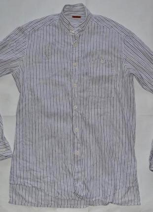 Новогодняя распродажа! barena дизайнерская рубашка, италия. в идеале, без следов носки