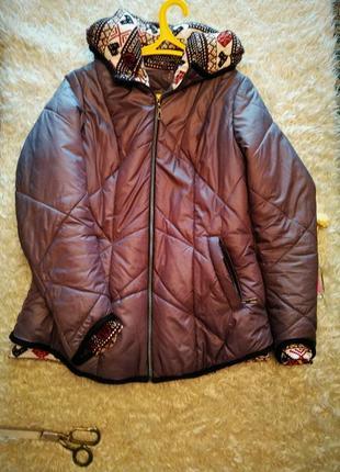 Супер предложение!  демисезонная куртка на двойном силиконе