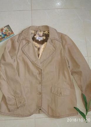 Замшевый пиджак