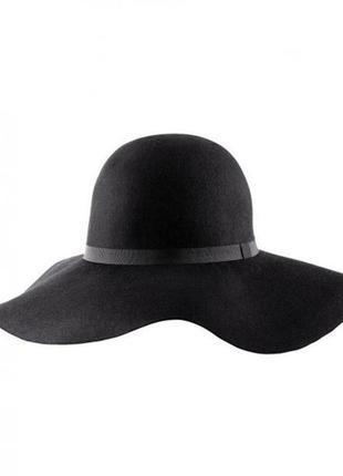 Изумительная женственная шляпа 100% шерсть