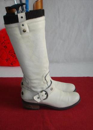 Сапоги кожаные бренд lavorazione artigianale