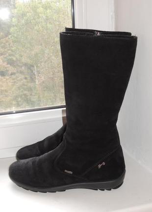 Мембранные кожаные замшевые деми сапоги primigi (италия) gore-tex р.35 (23 см)